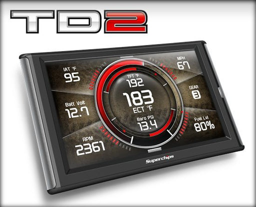 Superchips TrailDash 2 Tuner - Jeep '03-14 - Gauge Performance