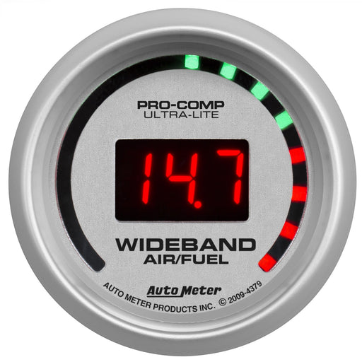 "Auto Meter Ultra-Lite Street Wideband Gauge - Digital; 2-1/16"" - Gauge Performance"