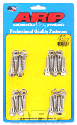 Header Bolt & Stud Kit, Stainless Steel, Hex- Chrysler HEMI 5.7/6.1/6.4L - Gauge Performance
