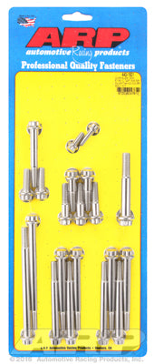 Timing Cover/Water Pump Bolt Kit, Stainless Steel, 12Pt- Chrysler HEMI 5.7/6.1/6.4L - Gauge Performance