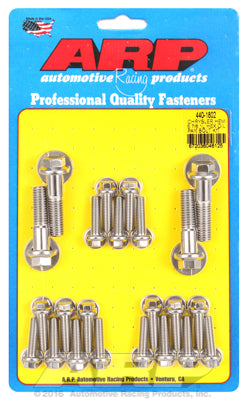 Oil Pan Bolt Kit, Stainless Steel, Hex - Chrysler HEMI 5.7/6.1/6.4L - Gauge Performance