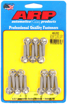 Ignition Coil Bracket Bolt Kit, Stainless Steel, Hex - Chrysler HEMI 5.7/6.1/6.4L - Gauge Performance