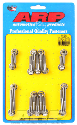 Intake Manifold Bolt Kit, Stainless Steel, Hex - SB Chrysler HEMI 5.7/6.1/6.4L - Gauge Performance