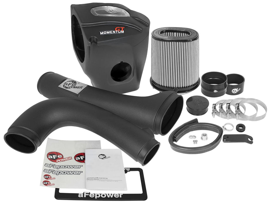 aFe Power Momentum GT Pro DRY S Cold Air Intake System - Gauge Performance