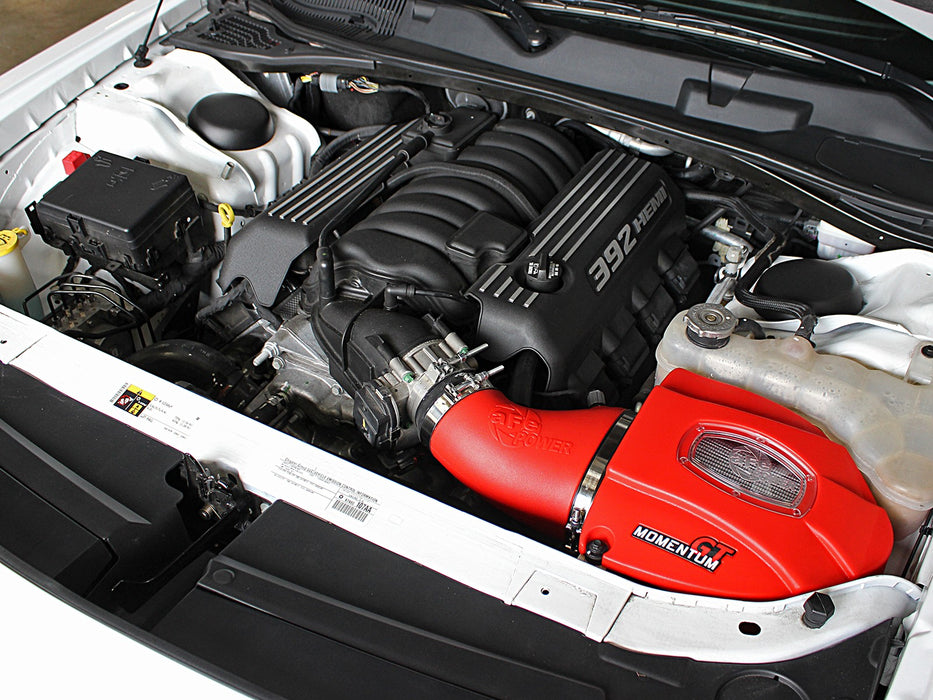 "aFe Power Momentum GT ""Limited Edition"" Cold Air Intake System - Challenger/Charger SRT/SRT8 V8-6.4L 11-18 - Gauge Performance"
