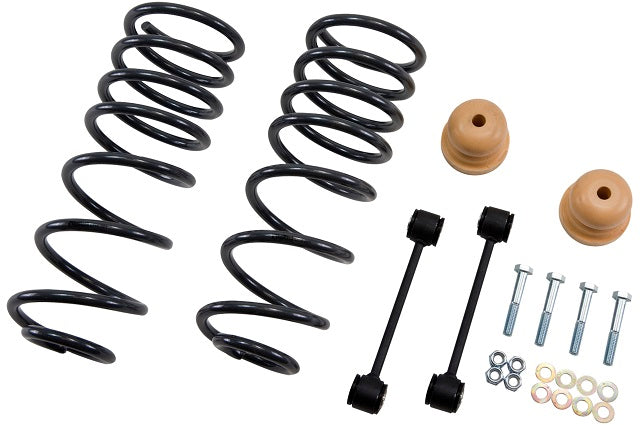"Belltech Coil Spring Set; 4"" Drop, Rear - Ext./Quad Cab Ram 1500 '09-18 - Gauge Performance"