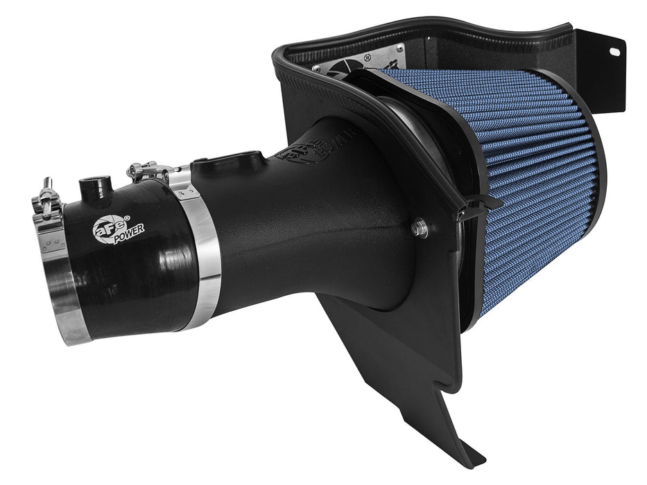 aFe Power Magnum FORCE Stage-2 Pro 5R Cold Air Intake System - Challenger/Charger SRT Hellcat V8-6.2L '15-16 - Gauge Performance