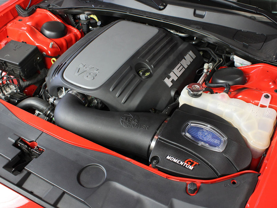 aFe Power Momentum GT Pro 5R Cold Air Intake System - Challenger/Charger R/T V8-5.7L '11-18 - Gauge Performance