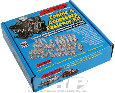 Engine Accessory Bolt Kit, Stainless Steel, Hex - Chrysler HEMI 5.7/6.1/6.4L - Gauge Performance