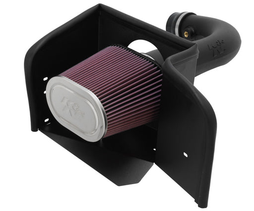 K&N 57 Series FIPK Air Intake - Ram 1500 4.7L '02-12 - Gauge Performance