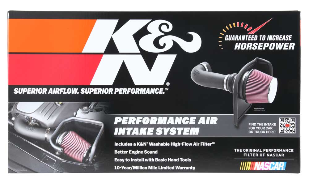 K&N AirCharger Air Intake - Ram 1500 5.7L '09-18 - Gauge Performance