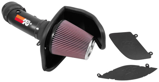 K&N Typhoon Air Intake - Challenger/Charger SRT Hellcat V8-6.2L
