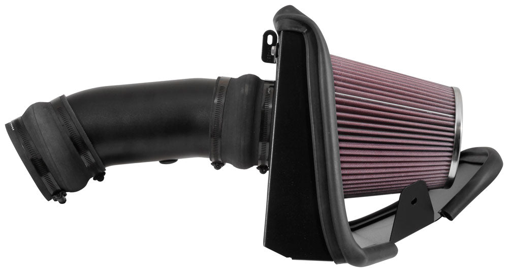 K&N Typhoon Air Intake - Challenger/Charger SRT Hellcat V8-6.2L '17-18 - Gauge Performance