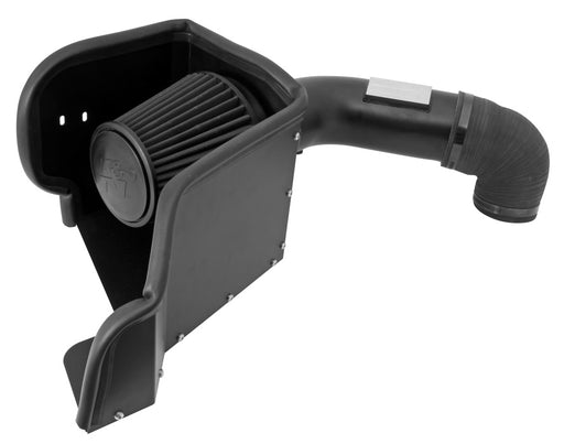 K&N Blackhawk Cold Air Intake - Ram 1500 5.7L '09-18 - Gauge Performance