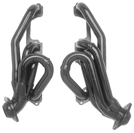 Hedman Uncoated Shorty Headers - 1500/2500/Durango, V8-5.2/5.9L '03 & older - Gauge Performance