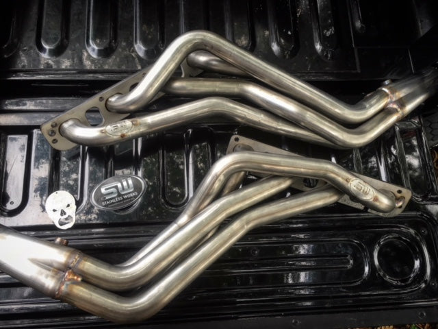 Stainless Works Headers w/ Catted Y-Pipe - Factory Connect (09-18 5.7L RAM