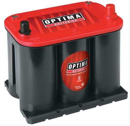 Optima RedTop Starting 12-Volt - Gauge Performance