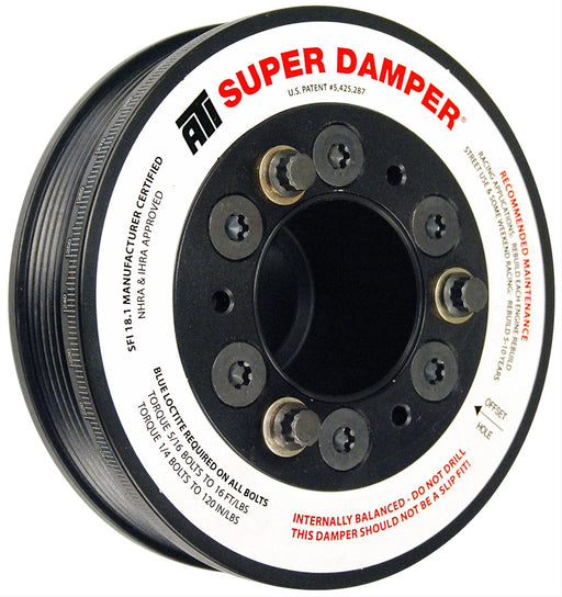 ATI Super Damper Serpentine Series Harmonic Balancer - Challenger/Charger/300/Jeep V8-5.7L '09-10 - Gauge Performance