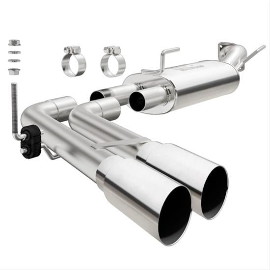 MagnaFlow MF Series Performance Side-Exit Exhaust System - Ram 1500 3.6L-V6 '09-18 - Gauge Performance