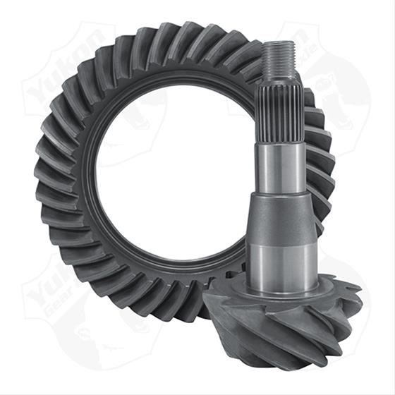 "Yukon Ring and Pinion Gears; 4.56:1, 9.25"" ZF - Chrysler '11-18 - Gauge Performance"