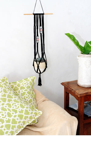 Macrame Plant Hanger The Space Artesense