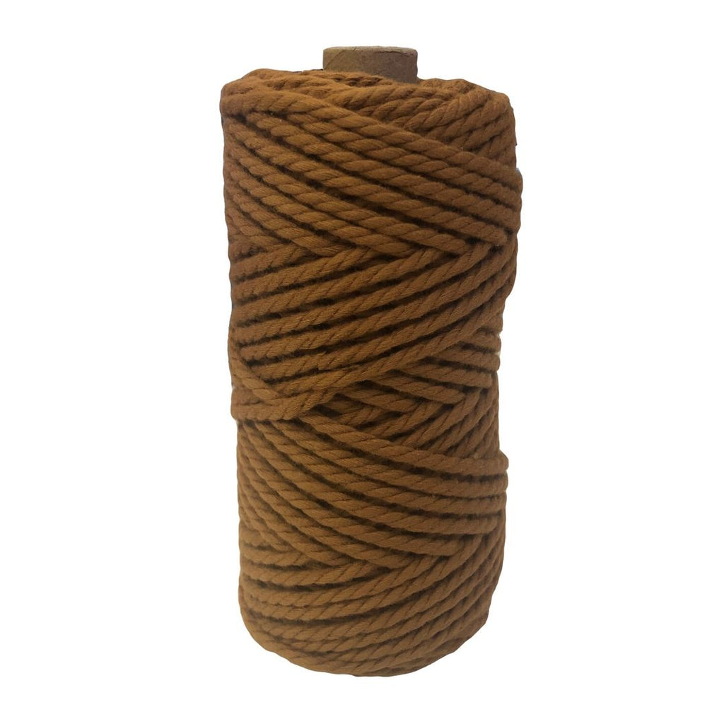 Luxury Macrame Cord ~ Caramel Rope, 4mm