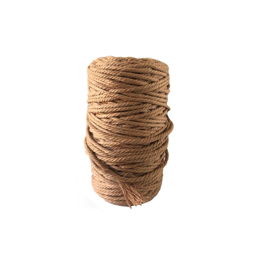 Luxury Macrame Cord ~ Pale Brick Rope 4mm