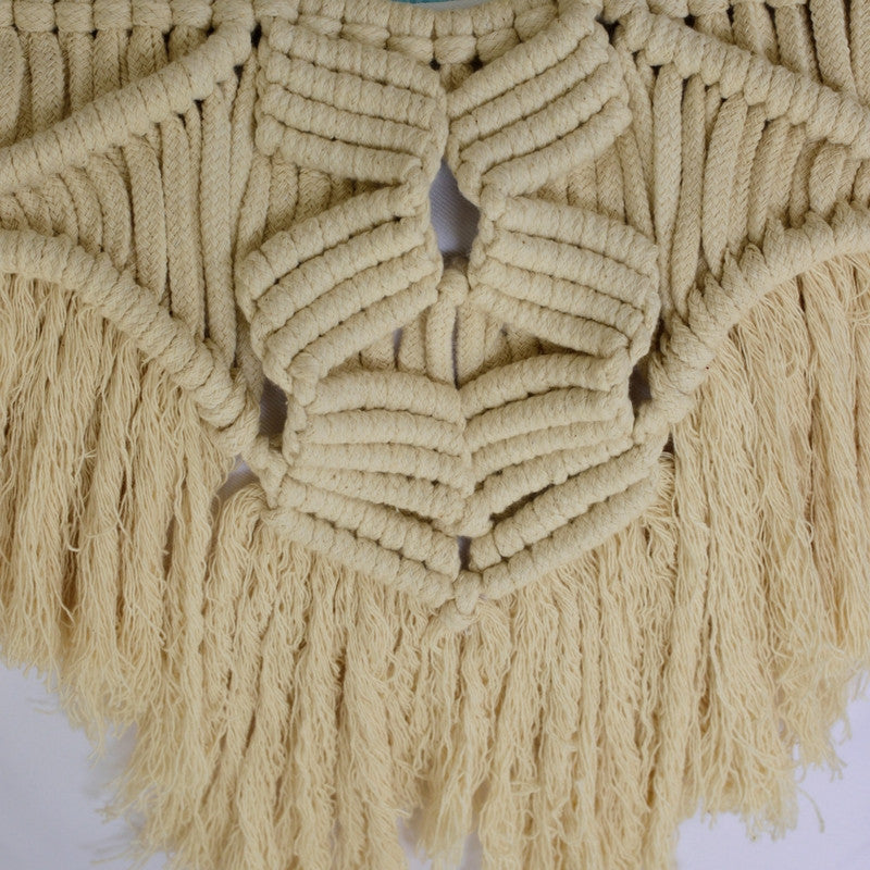Macrame Cushion Cover ~ Zigzag
