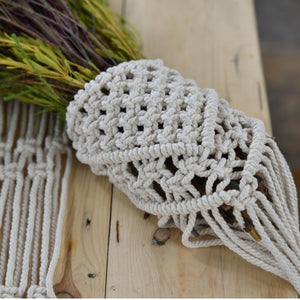 Hire Macrame Bouquet Wrap ~ Mesh