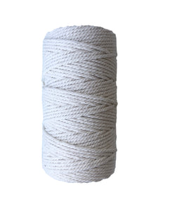Macrame Cord (Standard) ~ Natural Cotton Twine 3mm, 500g