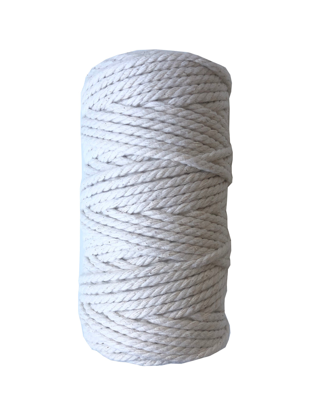 Macrame Cord (Standard) ~ Natural Cotton Twine 4mm, 500g