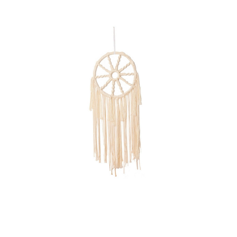 Modern Macrame Dreamcatcher ~ Boho Wheel
