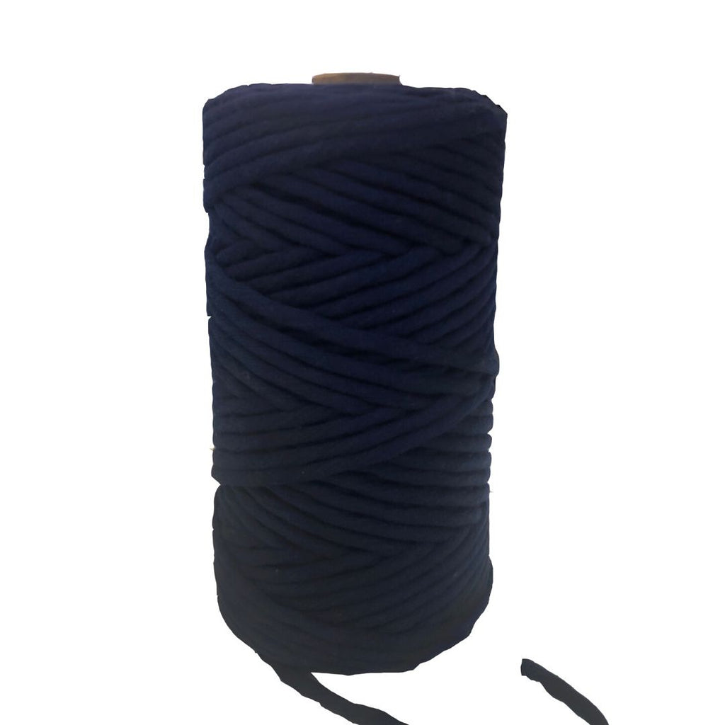 Luxury Macrame Cord ~ Indigo String, 4mm