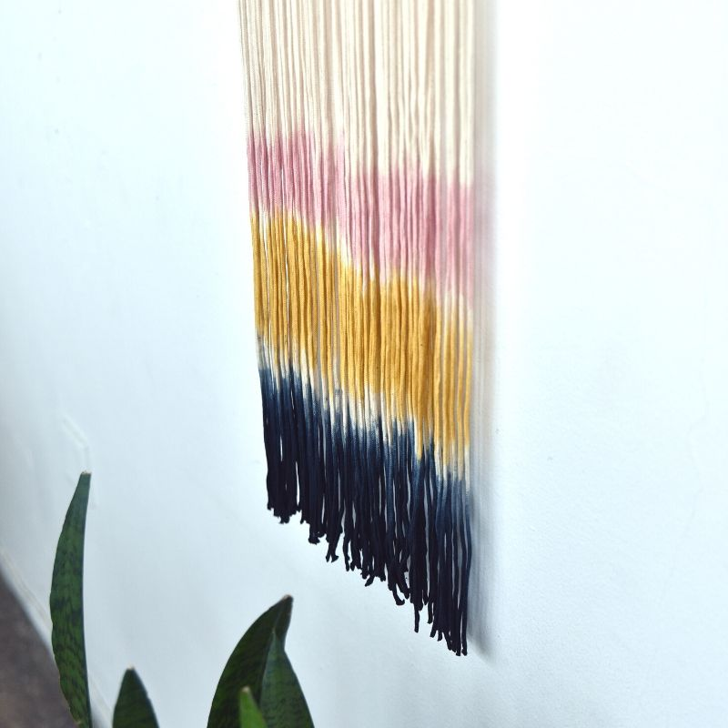 Dip Dyed Wall Art ~ Sunset