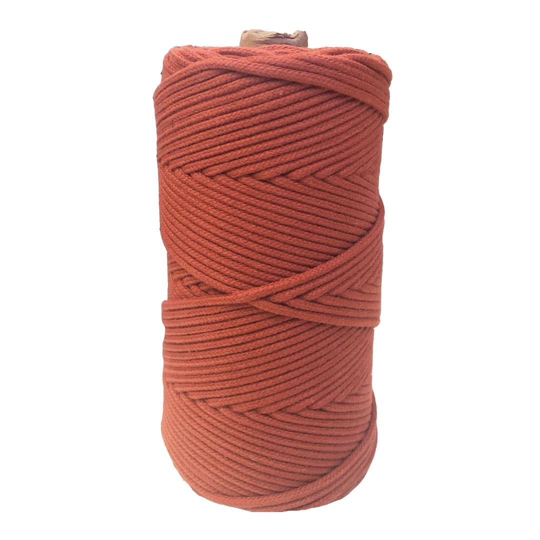 Luxury Macrame Cord ~ Terracotta Braid 3mm