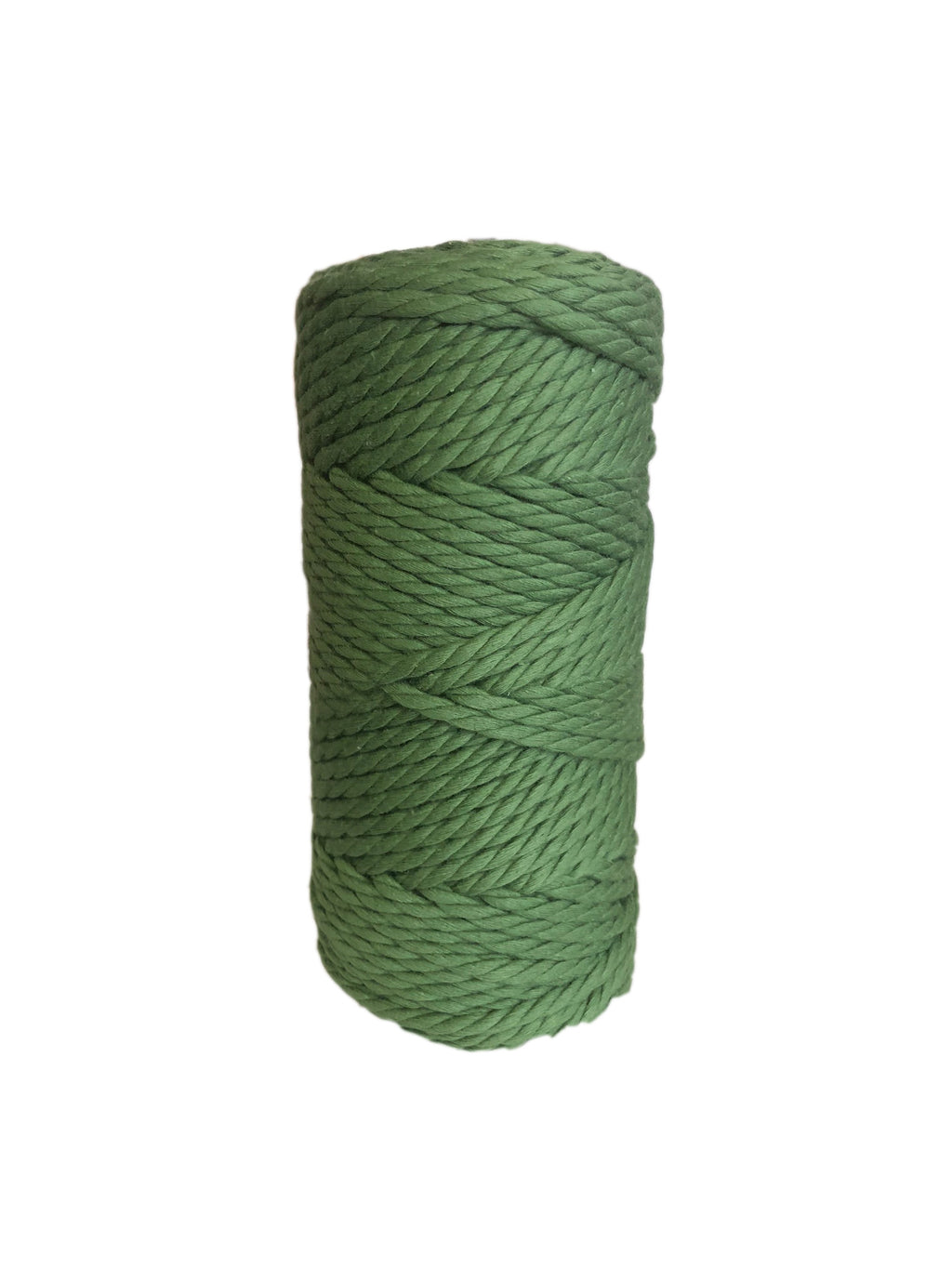 Luxury Macrame Cord ~ Fern Green Rope, 4mm