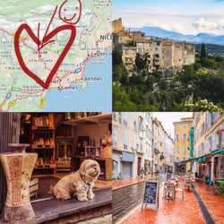 An American in Grasse: A Love Story