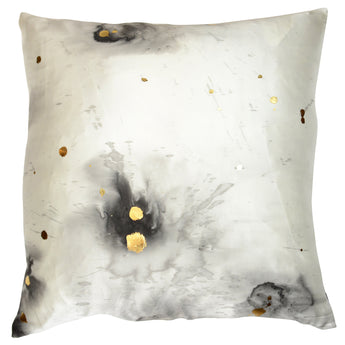 Stardust in Charcoal with Gold Metallic Detail