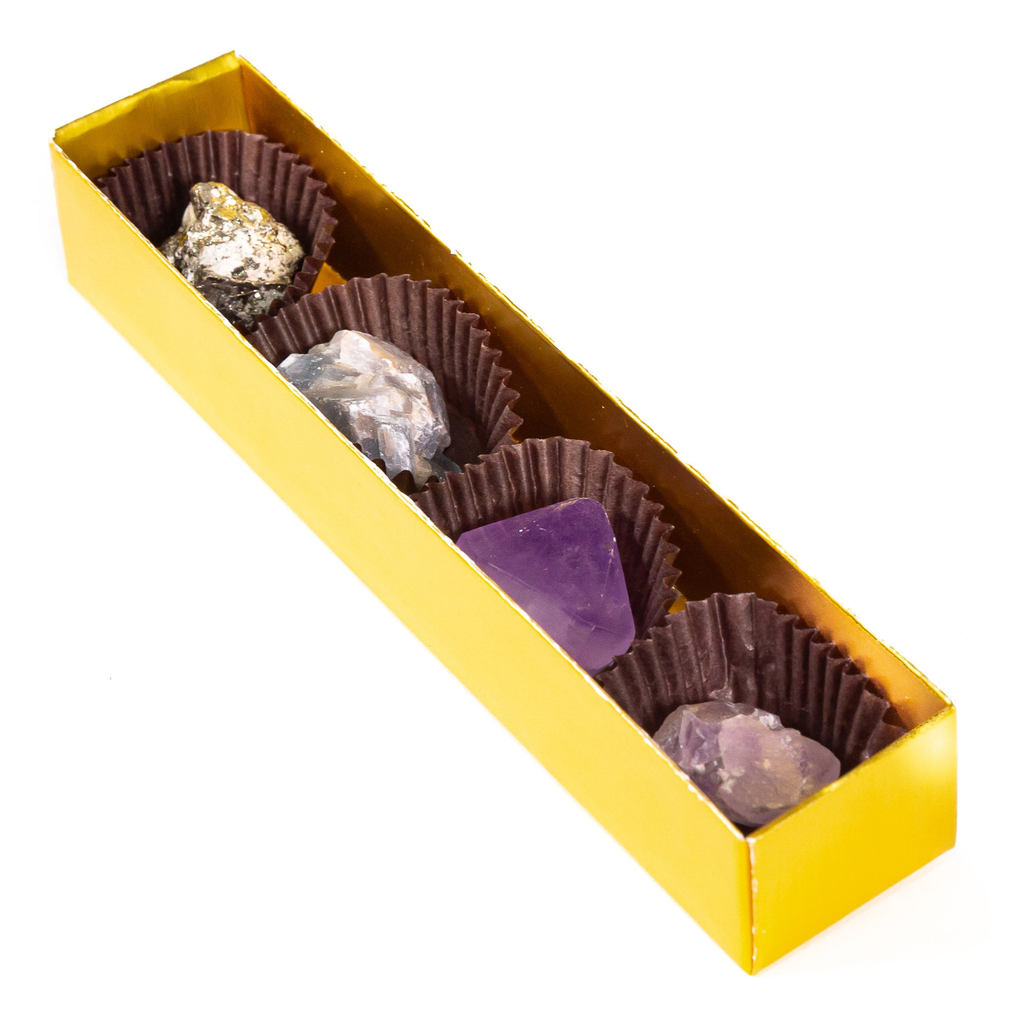 Karma Cocoa Chocolate Crystal Box Set of Four