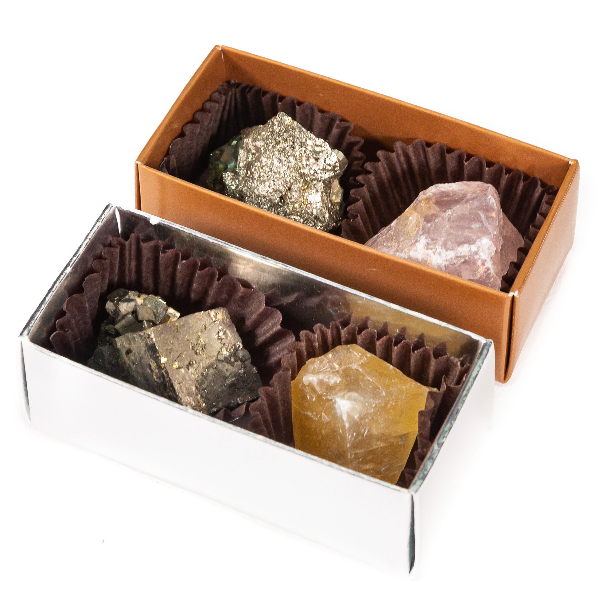 Karma Cocoa Chocolate Crystal Box Set of Two