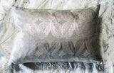 Set of Two Silver Sparkle Pillows