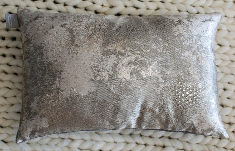 Estate Pillow With Swarovski Crystals in 12x20