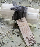 Selenite Bundle with Ribbon 8""