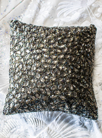 Smoke Jewel Gifting Pillow in 10x10