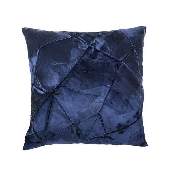 Facet Pillow in Prussian