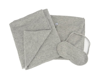 Cashmere Jet Setter Kit in Grey