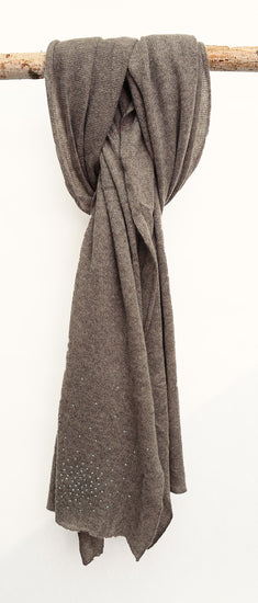 100% Cashmere Scarf Fawn