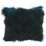Triple Dipped Mongolian Fur Solstice Pillow 20x20