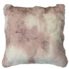Suri Alpaca Pillow White/Desert Rose