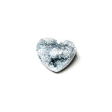Celestite Crystal Hearts